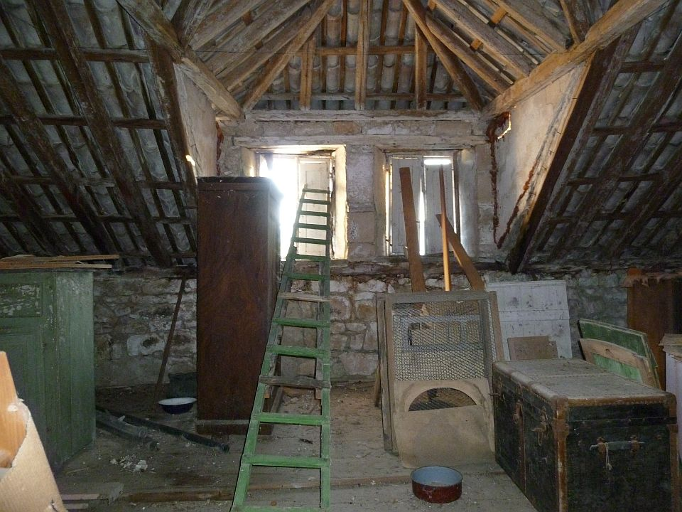 attic facing south