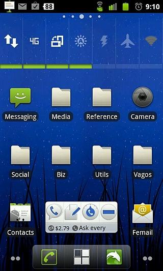 HTC EVO 4G CyanogenMod Screenshot