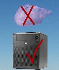 In-house server hosting