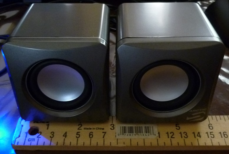 Arctic Sound S111 Portable 2.0 Computer Speakers